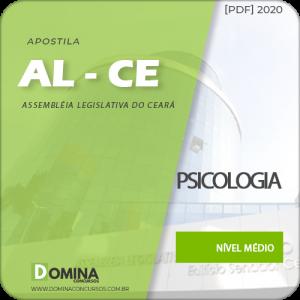 Apostila Concurso AL-CE 2020 Analista Legislativo Psicologia