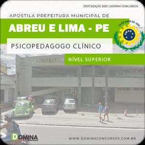 Apostila Pref Abreu e Lima PE 2020 Psicopedagogo Clínico