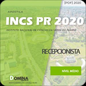 Apostila Concurso INCS PR 2020 Recepcionista