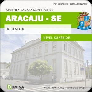 Download Apostila Concurso Câmara Aracaju SE 2020 Redator FGV