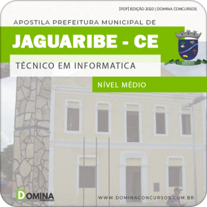 Apostila Pref Jaguaribe CE 2020 Técnico em Informática