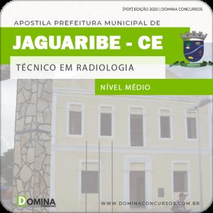 Apostila Pref Jaguaribe CE 2020 Técnico em Radiologia