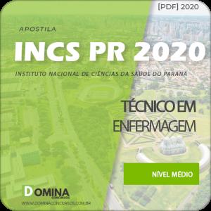 Apostila Concurso INCS PR 2020 Técnico em Enfermagem