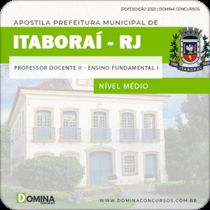 Apostila Pref Itaboraí RJ 2020 Professor 1 ao 5 Ano