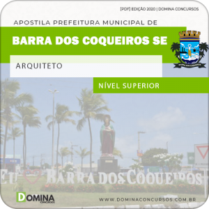 Apostila Pref Barra dos Coqueiros SE 2020 Arquiteto