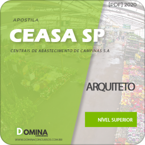 Apostila Concurso CEASA Campinas SP 2020 Arquiteto