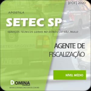 Apostila Concurso SETEC Campinas SP 2020 Agente de Fiscalização