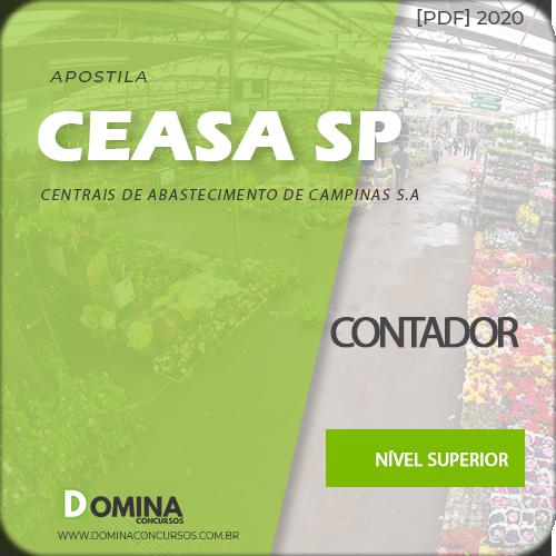 Apostila Concurso CEASA Campinas SP 2020 Contador