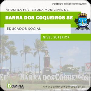 Apostila Pref Barra dos Coqueiros SE 2020 Educador Social