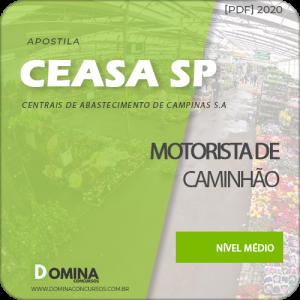 Apostila CEASA Campinas SP 2020 Motorista de Caminhão
