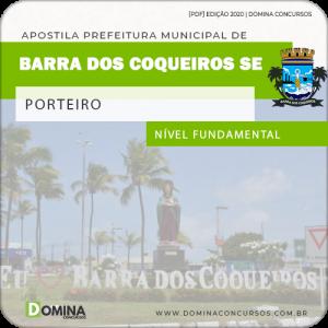 Apostila Pref Barra dos Coqueiros SE 2020 Porteiro