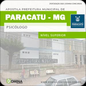 Apostila Concurso Pref Paracatu MG 2020 Psicólogo