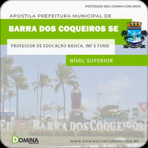 Apostila Barra Coqueiros SE 2020 Prof Ed Básica Infantil e Fund