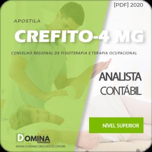 Apostila Concurso CREFITO 4 MG 2020 Analista Contábil