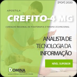 CREFITO 4 MG 2020 Analista Tecnologia Informação