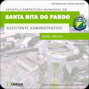 Apostila Santa Rita Pardo MS 2020 Assistente Administrativo