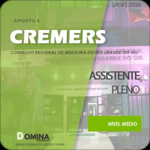 Apostila Concurso CREMERS 2020 Assistente Pleno