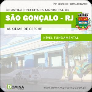 Apostila Prefeitura São Gonçalo RJ 2020 Auxiliar de Creche