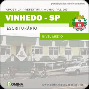 Apostila Concurso Pref Vinhedo SP 2020 Escriturário