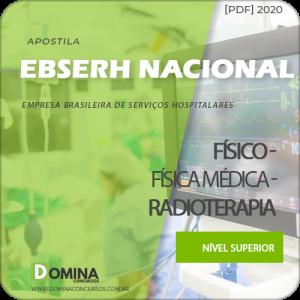 Apostila Concurso EBSERH BR 2020 Físico Radioterapia AOCP