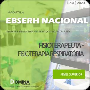 Apostila Concurso EBSERH BR 2020 Fisioterapeuta Respiratória