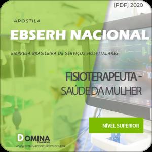 Apostila EBSERH BR 2020 Fisioterapeuta Saúde da Mulher