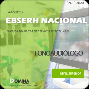 Apostila Concurso EBSERH 2020 Fonoaudiólogo AOCP