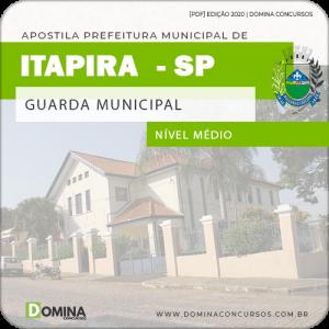 Apostila Concurso Pref Itapira SP 2020 Guarda Municipal