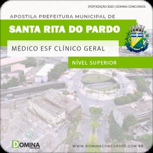 Apostila Santa Rita do Pardo MS 2020 Médico ESF Clínico Geral