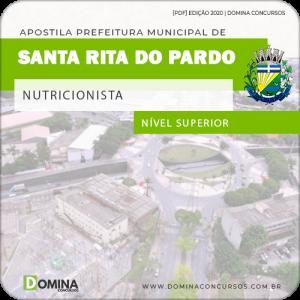 Apostila Pref Santa Rita do Pardo MS 2020 Nutricionista