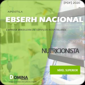 Apostila Concurso EBSERH BR 2020 Nutricionista AOCP