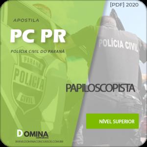 Apostila Concurso PC PR 2020 Papiloscopista Edital UFPR