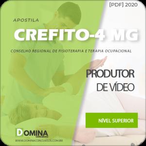 Capa CREFITO 4 MG 2020 Produtor de Vídeo