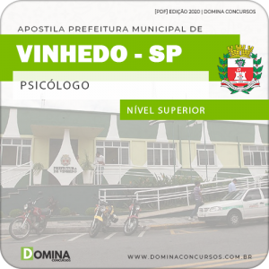 Apostila Concurso Pref de Vinhedo SP 2020 Psicólogo