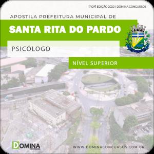 Apostila Pref Santa Rita do Pardo MS 2020 Psicólogo