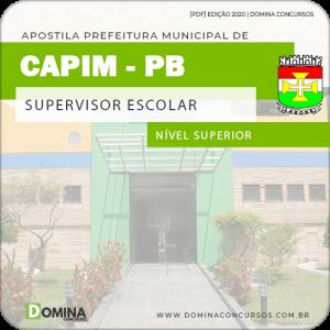 Apostila Concurso Pref de Capim PB 2020 Supervisor Escolar