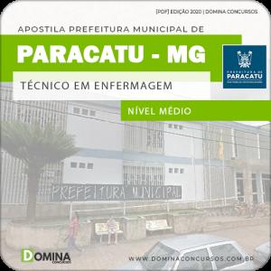 Apostila Concurso Paracatu MG 2020 Técnico em Enfermagem