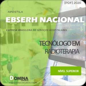 Apostila Concurso EBSERH 2020 Tecnólogo em Radiologia
