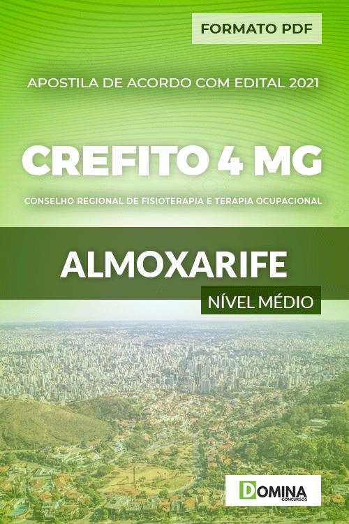Apostila Concurso CREFITO 4 MG 2020 Almoxarife