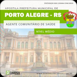 Apostila Pref Porto Alegre RS 2020 Agt Comunitário de Saúde