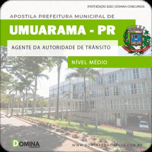 Apostila Pref Umuarama PR 2020 Agente Autoridade Trânsito