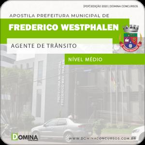 Apostila Pref Frederico Westphalen RS 2020 Agente de Trânsito