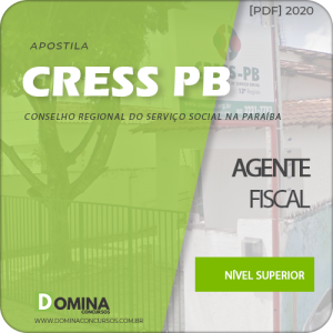 Apostila Concurso CRESS PB 2020 Agente Fiscal