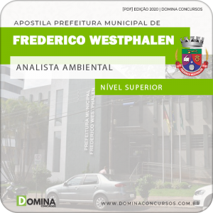Apostila Pref Frederico Westphalen RS 2020 Analista Ambiental
