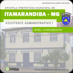 Apostila Pref Itamarandiba MG 2020 Assistente Administrativo I