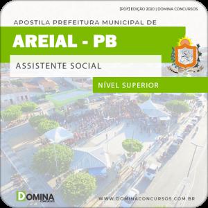 Apostila Concurso Pref Areial PB 2020 Assistente Social