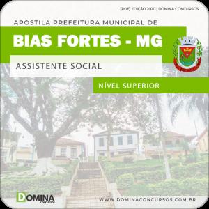 Apostila Pref Bias Fortes MG 2020 Assistente Social