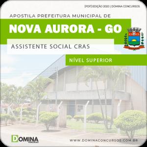 Apostila Pref Nova Aurora GO 2020 Assistente Social CRAS
