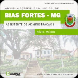 Apostila Pref Bias Fortes MG 2020 Assistente Administração I