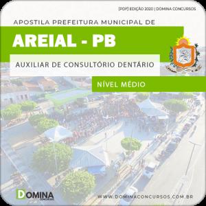 Apostila Pref Areial PB 2020 Auxiliar de Consultório Dentário